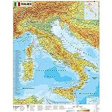 Italien physisch - Wandkarte / Poster