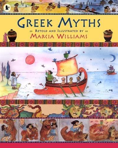 Greek Myths por Marcia Williams