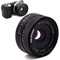 Womdee 32 mm F/1.6 Manual Focus Prime Lens, Compatible with Sony E-Mount APS-C Mirrorless Camera Sony A7III, A9, NEX 3…