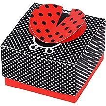 50Pcs Cajas de Papel de Caramelo Dulces Bombones Bautizo Regalos Recuerdos Detalles para Invitados de Boda Fiesta Comunion Decoración Cumpleaños Graduación Boda Favor
