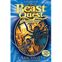 Arachnid the King of Spiders: Series 2 Book 5 (Beast Quest)