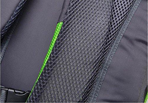 HTRPF Fashion Sports Wasserdichte Schultertasche Mountaineering Bag Männer und Frauen Rucksack 3