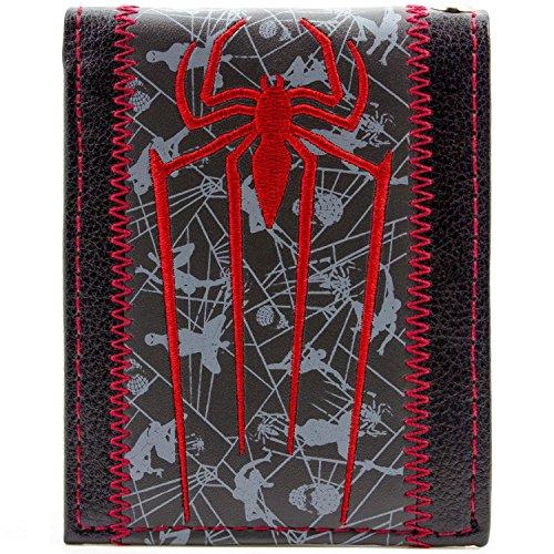 innen-Symbol Mehrfarbig Portemonnaie Geldbörse (The Amazing Spider Man Ps3 Kostüme)