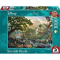 Schmidt 59473 Puzzle il Libro della Giungla Thomas Kinkade 1000 Pezzi