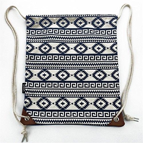 Imagen de bolsas de cuerdas mujer  saco tela lona moda bolsas deporte ocio viaje alternativa