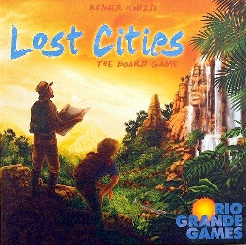 Preisvergleich Produktbild Lost Cities Board Game by Rio Grande Games