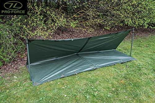 Highlander Military Army Basha Green Waterproof Sleeping ...