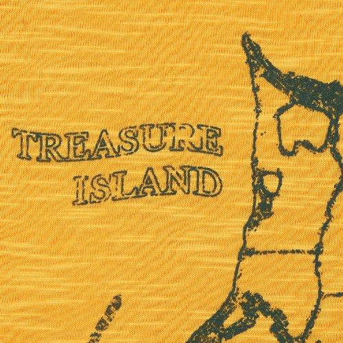 Kitaro, kurzarm Shirt T-Shirt, 191460C, rapsgelb [10491] rapsgelb