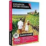 DAKOTABOX - Caja Regalo - ESCAPADA ENTRE VIÑEDOS - 460 hoteles enoturísticos en las mejores D.O. de España y Francia