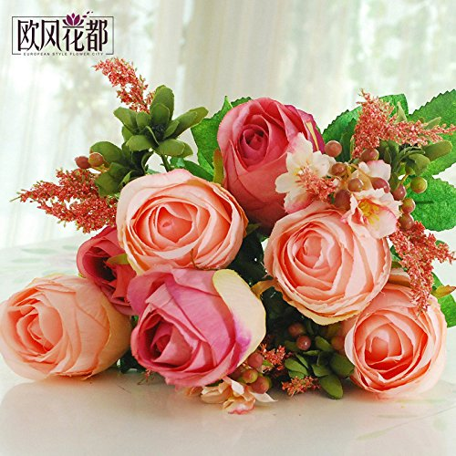 Beata.T Continental Glass Rose fiore di emulazione