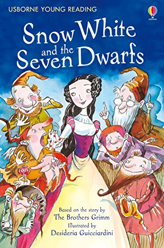 Snow White and the Seven Dwarfs: For tablet devices (Usborne Young Reading: Series One) (English Edition) (Poison Apple-serie)