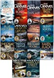 Ann Cleeves TV Shetland & Vera Series Collection 14 Books Set (Telling Tales, Harbour Street, Silent Voices, Hidden Depths, The Glass Room, The Crow Trap, The Moth Catcher, Blue Lightning, Raven Black, White Nights, Red Bones, Cold Earth, Thin Air, Dead Water)