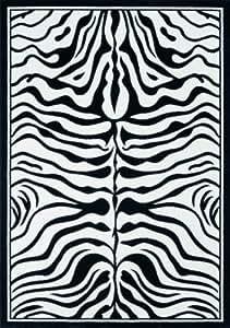 Lalee Contempo 450 347077977 Rug 80 x 150 cm Black / White