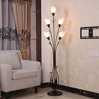 lampada da pavimento Soggiorno moderno angolo camera da letto ...
