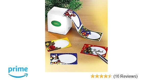 Beschriften Geb/äckt/üten selbstklebend Geschenke f/ür Einmachgl/äser leicht abl/ösbar 80 Etiketten Weihnachten//Winter zum Bedrucken DIN A5