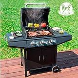 Barbacoa a gas con grill BBQ Classics 1857