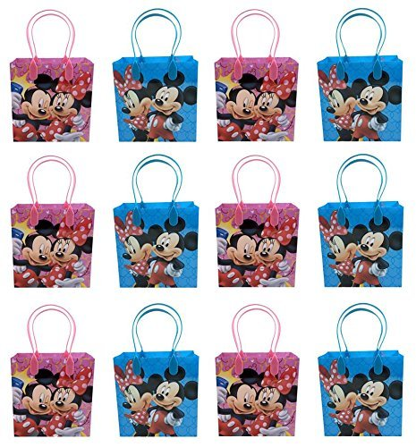 Minnie Mouse Goodie Bags Party Favor Bags Gift Bags by Disney ()