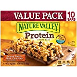 Nature Valley Protein Granola Bars Peanut Butter Dark Chocolate Value Pack - 10ct