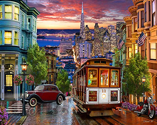 Vermont Christmas San Francisco Jigsaw Puzzle 1000 Teile