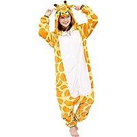 Yimidear Unisexe Hot Adulte Pyjamas Cosplay Costume d'animal Onesie de Nuit de Nuit