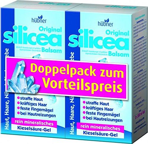 "2 x ""Doppelpack"" Hübner Original Silicea Balsam Gel 4X500ml"