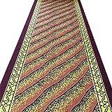 ZENGAI Tappeto Corridoio Passatoia Personalizzabile Hotel Domestico Sala Corridoio Tappeto Lavabile Le Scale Tappetino, Cutable (Colore : A, Dimensioni : 0.8x5m)
