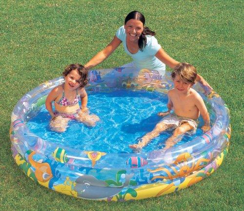 Preisvergleich Produktbild Bestway 51004 - Pool 3-Ring bunt, ca. 152 cm