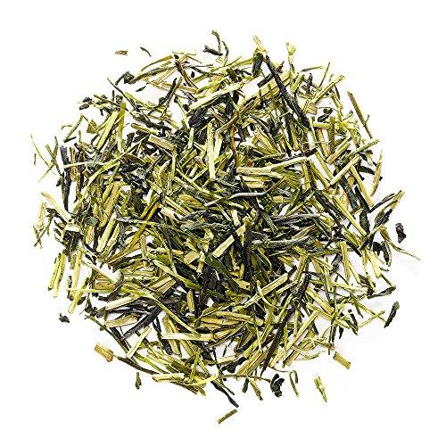Kukicha Tè Verde Giapponese - Varietà Karigane - Povero di caffeina - Fantastico tè verde giapponese in foglia - Accuratamente miscelato con Sencha