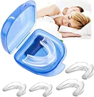 BUVE Mouth Guard for Grinding Teeth, Professional Night Sleep Teeth Guards for Clenching Teeth/Teeth Straightener/Teeth Whit