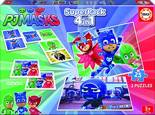 PJ Masks - Superpack (Educa Borrás 17258)