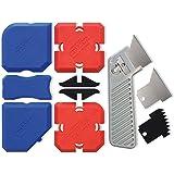 Cramer 40407EN Siliconen Profiling Kit 7 - Professionele siliconen gereedschapskit met afdichtmiddel Afwerkingsgereedschap en