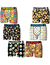 Freegun - Lot 6 Boxers - Homme