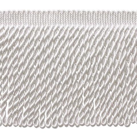4,6m Value Pack–15,2cm de long Blanc Bullion Fringe Trim, Basic Trim Collection, style Bfs6Couleur: A1(4,6m/4.5metres)