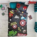 Marvel Avengers Kawaii Tokyo Einzelbett Bettwäsche Bettbezug Kinder Next Bettwäsche