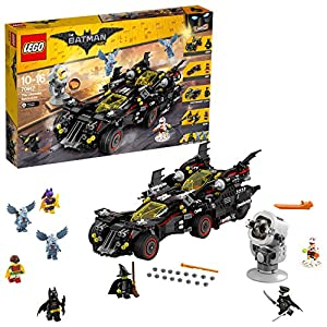 LEGO Movie Batman Ultimate Batmobile, Multicolore, 70917 LEGO BATMAN MOVIE LEGO