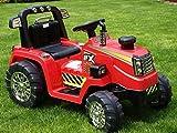 Kinderauto Kinderelektroauto Kinderelektrofahrzeug Kinder elektroauto 12V Traktor Rot