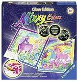 Ravensburger Mixxy Colors 29431 - Traumhafte Einhorner Glow, Malset