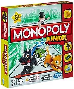 Hasbro Spiele A6984100 – Monopoly Junior, Familienspiel