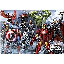 Grupo Erik Editores TSEH257 - Vade escolar con diseño Marvel Avengers Assemble