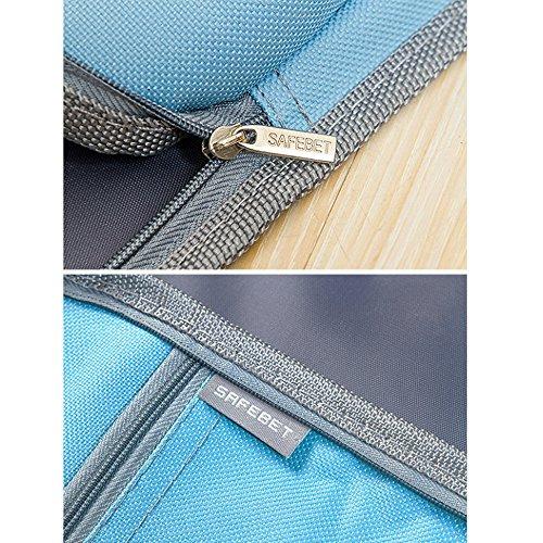 Multifunzionale borsa da viaggio e tuta antipolvere appiattito borsone per home Outdoor, Tessuto Oxford, Green, taglia unica Pink