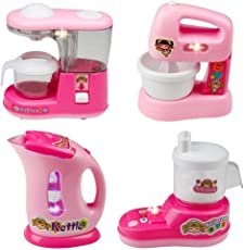 WE-BLINK INTERNET Mini Household Appliances (Pink) - Set of 4