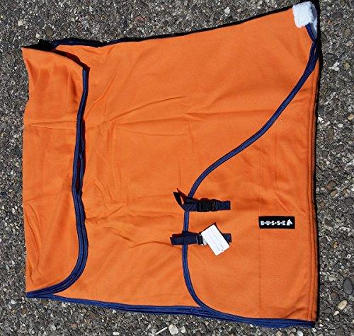 Busse Pferdedecke Abschwitzdecke Farbe orange Größe wählbar (155)