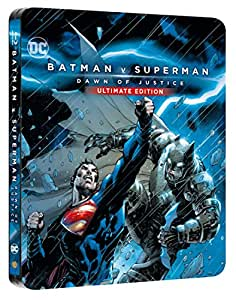 Batman v Superman: Dawn of Justice DC (Steelbook - Esclusiva Amazon) (2 Blu-Ray)