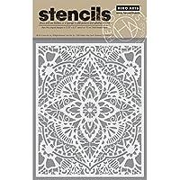 "Hero Arts Stencil 6.25""X5.25""-Glorious Petal"