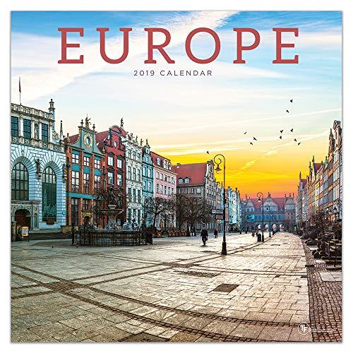 Europe 2019 Calendar