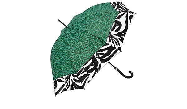 Regenschirm Stockschirm Damenschirm Automatik Animal Print C-Collection