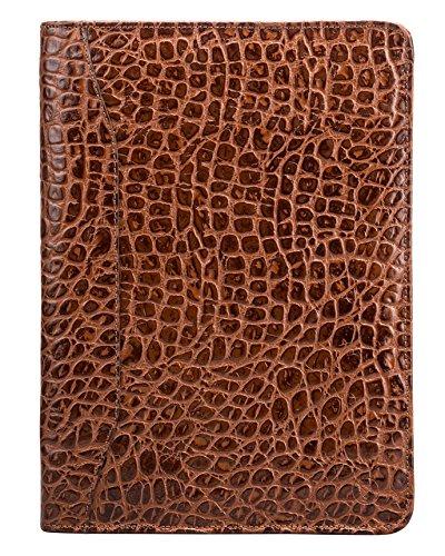 Maxwell Scott - Conférencier cuir marron foncé (Dimaro) Marron Foncé Croco