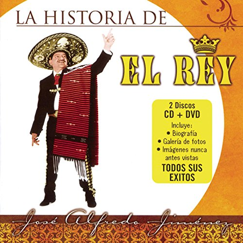 La Historia Del Rey (Alfredo Jose Jimenez-dvd)