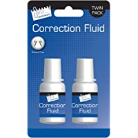 Just-Stationery 20 ml Correction Fluid Bottle (Pack of 2)