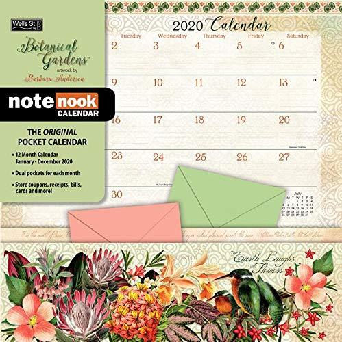 Botanical Gardens: 2020 Note Nook